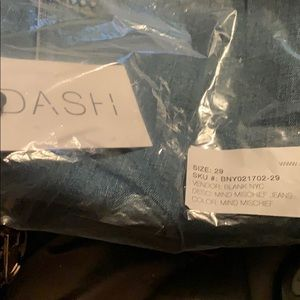 Dash blank ny jeans size 29 new 100.00 pd 250.00